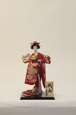 """Kyugetsu Japanese Doll """"MOMOYAMA"""" (A4723)"""