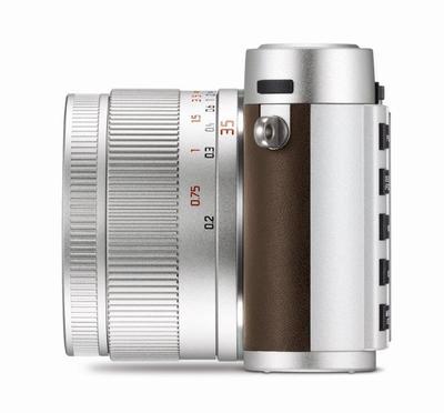 Leica x silver left