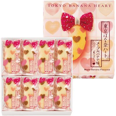 TOKYO BANANA HEART Maple Bnana Flaver 8 pieces