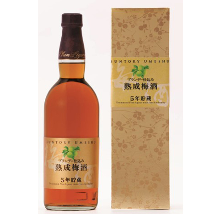 SUNTORY UMESYU AGED 5 YEARS 750ml