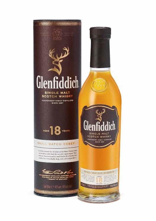 GLENFIDDICH 18Y 200ML