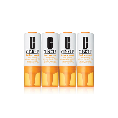 Fresh Pressed Daily Booster with Pure Vitamin C 10% (8.5ml×4)