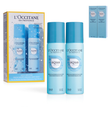 AQUA RÉOTIER FRESH MOISTURIZING MIST DUO 50ml×2