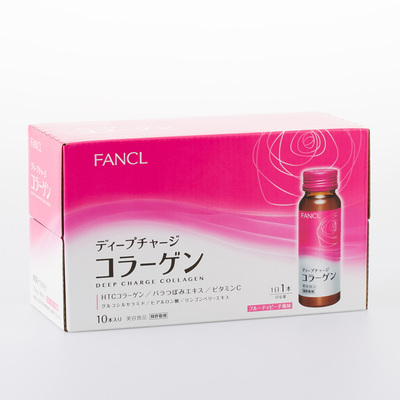 Deep Charge Collagen Drink 50 ml x 10 bottles (10 days' supply)