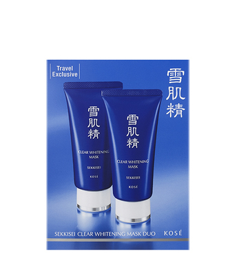 Sekkisei Clear Whitening Mask Due (80 g x 2)