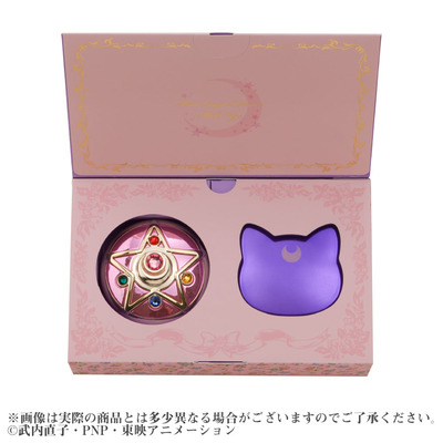 Miracle Romance Moon Princess Cushion Compact Set
