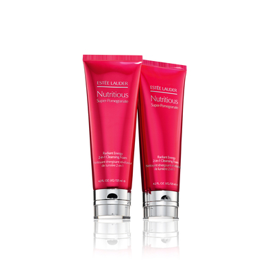 Nutritious Super-Pomegranate Radiant Energy 2-in-1 Cleansing Foam Duo