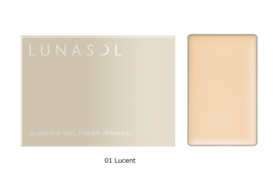 LUNASOL GLOWING VEIL FINISH (PRIMER) 01Lucent