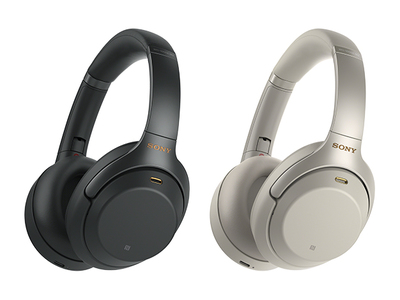 WH-1000XM3 Wireless, noise cancelling headphones