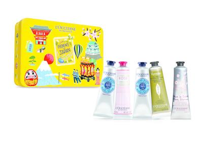 Japan Travel Exclusive Hand Cream Set (30ml×5)*