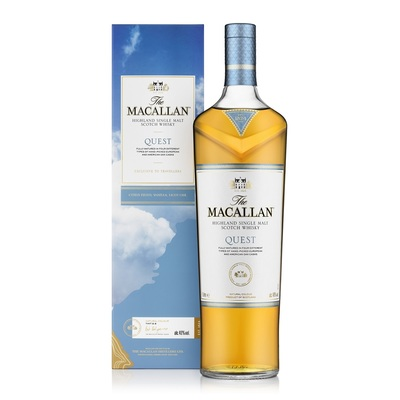 The Macallan Quest Highland Single Malt Scotch Whisky 1L