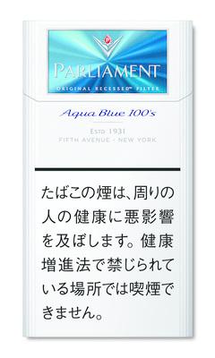 パーラメント アクア ブルー 100S ボックス