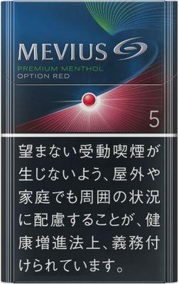 メビウス プレミアム メンソール オプション RED  5