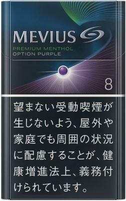 メビウス プレミアムメンソール オプション 8 ボックス