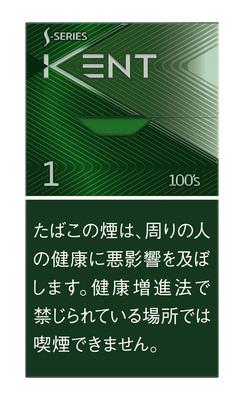 ケント Sシリーズ メンソール ワン 100S ボックス